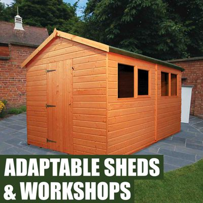 Adaptable Sheds & Workshops